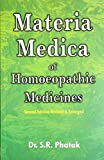 Concise Materia Medica of Homoeopathic Medicines
