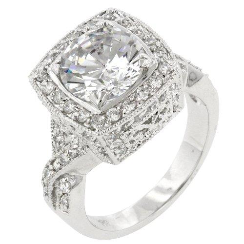 ISADY Paris Ladies Ring cz diamond ring Pallisadia