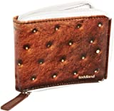 Toddland Men's Ice Cream Sandwhich Wallet, Brown, One Size