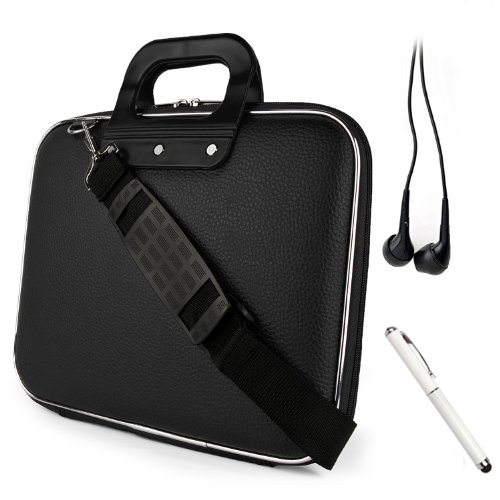 Buy Black Cady Executive Lear Hard Cube Carrying Case Shoulder