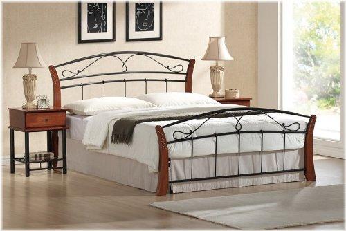 Metallbett Bett - Atlanta 180 X 200 incl. Lattenrost