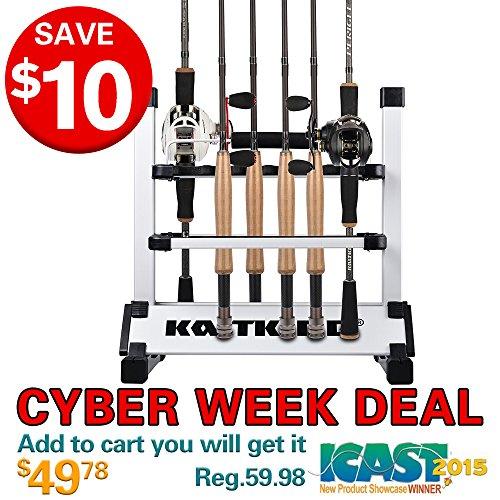 kastking-rack-em-up-12-fishing-rods-holder-portable-aluminum-rack
