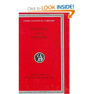 Juvenal and Persius (Loeb Classical Library)