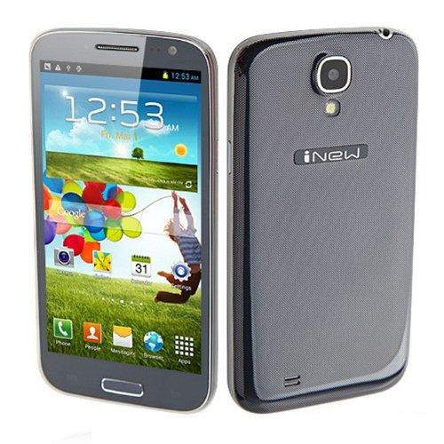 Inew Phone 5.0 Inch Hd(1280*720) 1.2 Ghz Android 4.2 Mtk6589 Quad Core Ram 2Gb +32Gb Rom 3G Wifi 8.0 Mp Camera Bar Wcdma Black (1Gb/4Gb)