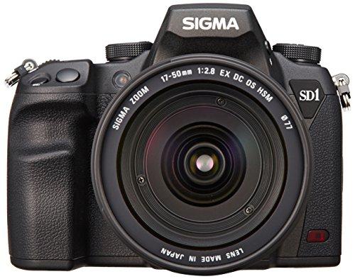 Sigma-SD1-Merrill-Kit-Apparecchio-Digitale-Fotografico-con-17-5028-EX-DC-OS-HSM1-Scatola-Nero