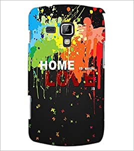 PrintDhaba Quote D-3451 Back Case Cover for SAMSUNG GALAXY S DUOS 2 S7582 (Multi-Coloured)