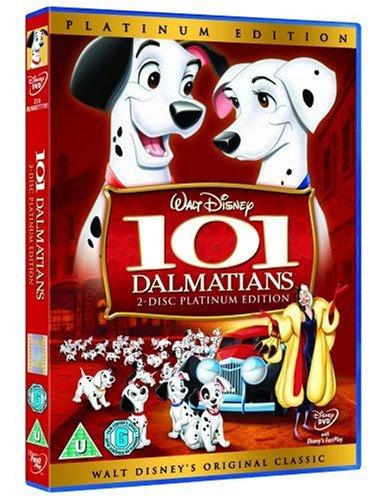 101 Dalmatians Platinum Edition [DVD] [1961]