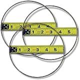 "KENT LOT OF 3: 5-3/4"" Taurus Ring Saw Replacement Blades, Grit 170"