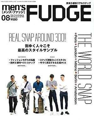 men's FUDGE -メンズ ファッジ- 2018年8月号