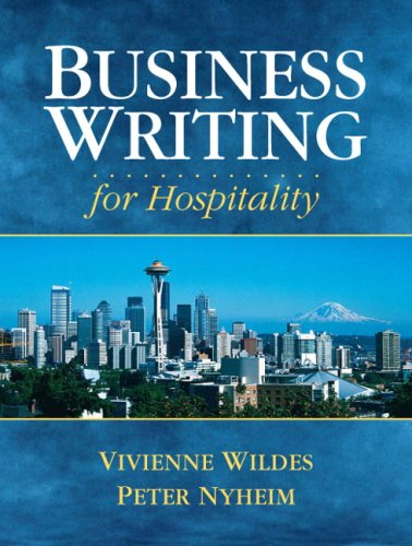 Business Writing for Hospitality