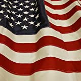 The Best American Flag - US Flag 2 x 3 - Embroidered Stars - Display as Your Garden Flag - Patio Flag or a Replacement Flag for Your Pole Kit - Indoors - Highest Quality Durable 210D Nylon - Brass Grommets - Four Stitches on End will Not Fray