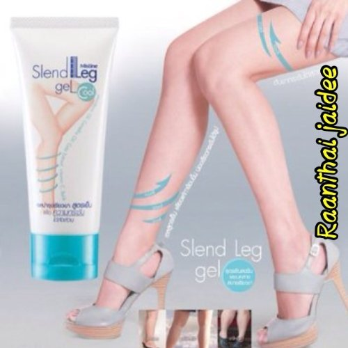 50 G New Mistine Slend Leg Gel Firming & Slimming ,Reduce Cellulite Within 2 Weeks