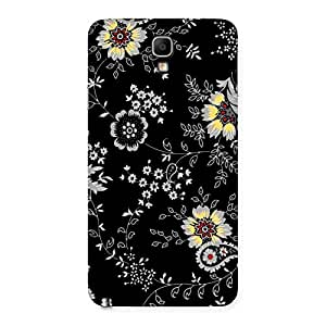 Impressive Classic Flower Back Case Cover for Galaxy Note 3 Neo