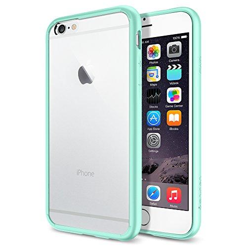 iPhone 6 ケース Spigen [クリア バンパー] Apple iPhone 4.7 (2014) ウルトラ・ハイブリッド (国内正規品) (ミントSGP11021)