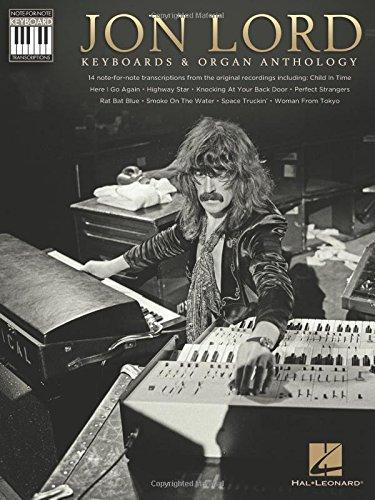 Jon Lord: Keyboards & Organ Anthology - Keyboard Recorded Versions