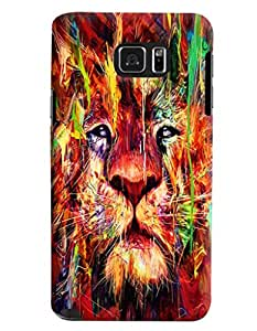 Blue Throat Lion Printed Designer Back Cover/Case For Samsung Galaxy Note 5