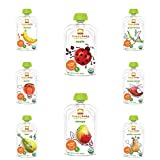 HAPPYBABY Organic Baby Food, Stage 1 Sampler (16 Count)