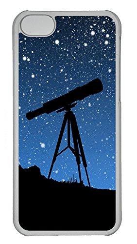 Iphone 5C Case, Iphone 5C Cases - Sky Telescope Custom Design Iphone 5C Case Cover - Polycarbonate¨C Transparent