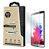 iCarez® for LG G3 [Tempered Glass] Highest Quality Premium Anti-Scratch Bubble-free Reduce Fingerprint No Rainbow Washable Screen Protector Easy Install Product with Lifetime Replacement Warranty [1-Pack,0.3mm] - Retail Packaging 2014