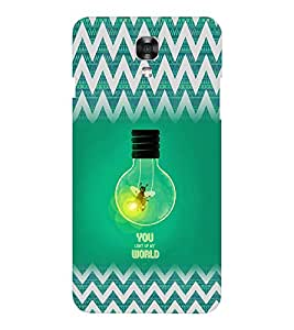 EPICCASE You Light up my World Mobile Back Case Cover For LG X Power (Designer Case)