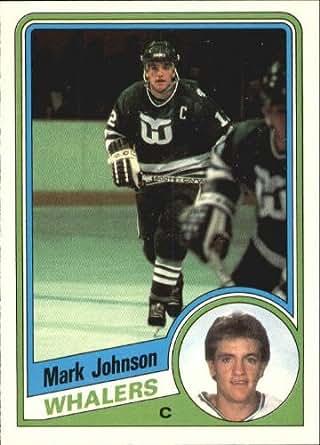 Amazon.com: 1984 O-Pee-Chee Hockey Card (1984-85) #72 Mark Johnson