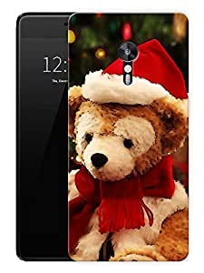 """Christmas Teddy BearPrinted Designer Mobile Back Cover For """"Lenovo Zuk Z2 Pro"""" (3D, Matte, Premium Quality Snap On Case)"""