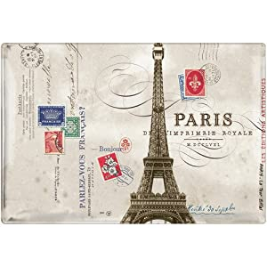 Paris Effel Tower Medium Rectangular Tray