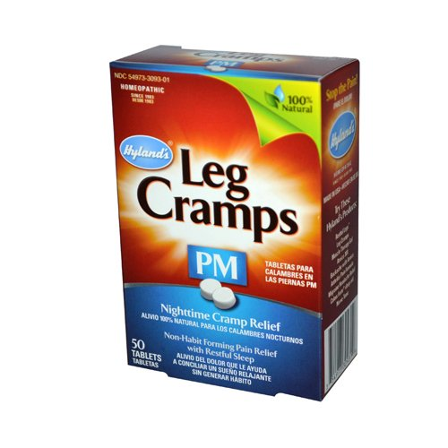 Hyland'S Leg Cramps Pm With Quinine 50 Tablets front-826067
