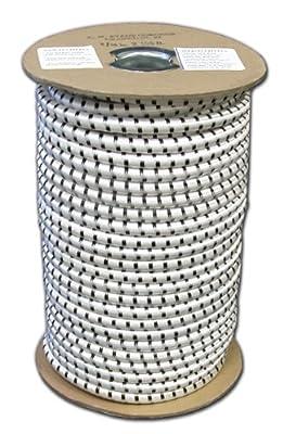 T.W . Evans Cordage SC-104-050 1/4-Inch by 50-Feet Elastic Bungee Shock Cord