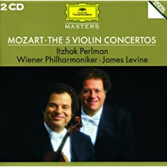 Mozart: The 5 Violin Concertos (2 CD's)