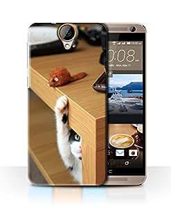 PrintFunny Designer Printed Case For HTCE9Plus