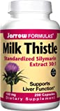 Jarrow Formulas Milk Thistle Standardized Silymarin Extract 30