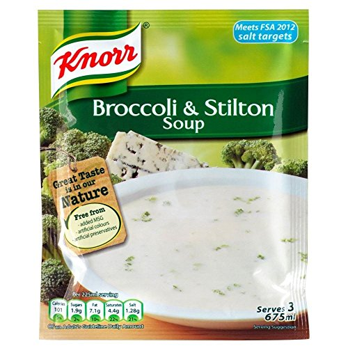 Knorr Broccoli & Stilton Soup (60g) - Pack of 2 (Pickled Broccoli compare prices)