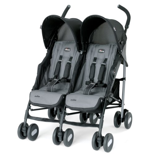 Chicco-Echo-Twin-Stroller-Coal