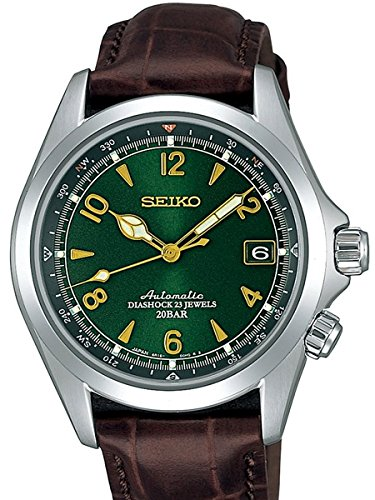 [セイコー]SEIKO 腕時計 MECHANICAL メカニカル アルピニスト 自動巻き (手巻き付) SARB017 メンズ