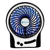 Bengoo 携帯ファン 小型ファン usb扇風機 ミニファン 卓上扇風機 サーキュレーター 携帯易い 3段階風力調整可能 省エネ usbと乾電池対応 オフィスや部屋や外出で使用でき