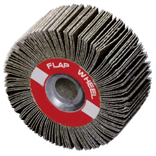 A&H Abrasives 101540, Package Of 5 Each, Misc, Flapwheel, 3-1/2X1-1/2X5/8 Aluminum Oxide 100 Grit Flap Wheel