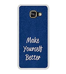 Life Quote 2D Hard Polycarbonate Designer Back Case Cover for Samsung Galaxy A3 (2016) :: Samsung Galaxy A3 2016 Duos :: Samsung Galaxy A3 2016 A310F A310M A310Y :: Samsung Galaxy A3 A310 2016 Edition