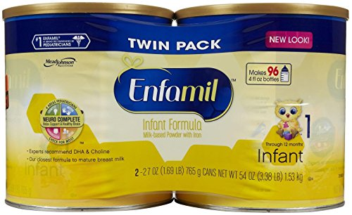 Enfamil Infant Baby Formula - Powder - 27 oz - 2 pk - 1