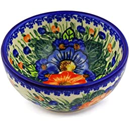 Ceramika Bona 35/D144 Polish Pottery Boleslawiec Stoneware Ceramika Bona 6-Inch Bowl, 24-Ounce