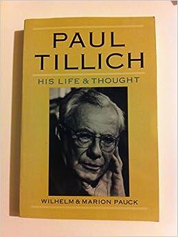 Tillich, Dynamics of Faith Essay