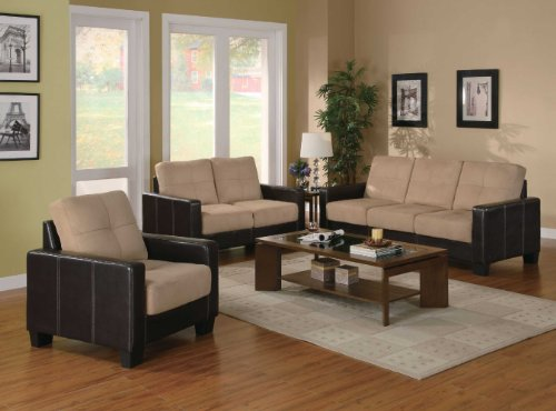 Coaster Regatta 3 Piece Living Room Set