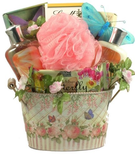 Spa Getaway Beautiful Spa And Gourmet Gift Basket For Women