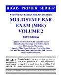 img - for Rigos Primer Series Uniform Bar Exam (UBE) Review Series Multistate Bar Exam: MBE Volume 2 - 2015 Edition book / textbook / text book