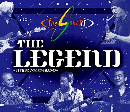 """THE LEGEND "" ~31年振りのザ・スクエア@横浜ライブ~ [Blu-ray]"