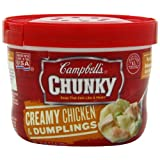 Campbell's Chunky Creamy Chicken & Dumplings Soup, 15.25 Ounce Microwavable Bowls... by Campbell's