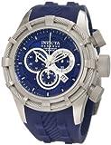 Invicta Men's 1224 Bolt Reserve Chronograph Blue Dial Blue Silicone Watch
