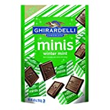 Ghirardelli Minis Pouch, Winter Mint, 4.01 Ounce