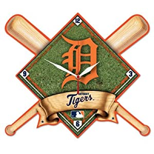 Detroit Tigers High Definition Wall Clock by WinCraft