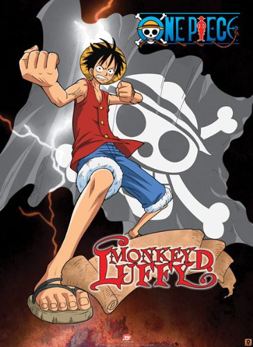 "ONE PIECE - Poster ""Luffy lightning""  ONE PIECE - ポスター""ルフィの稲妻」"